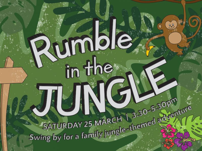 Rumble in the Jungle illustrations